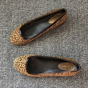 Cole Haan Leopard Ballet Flats Nike Air Collab 9.5